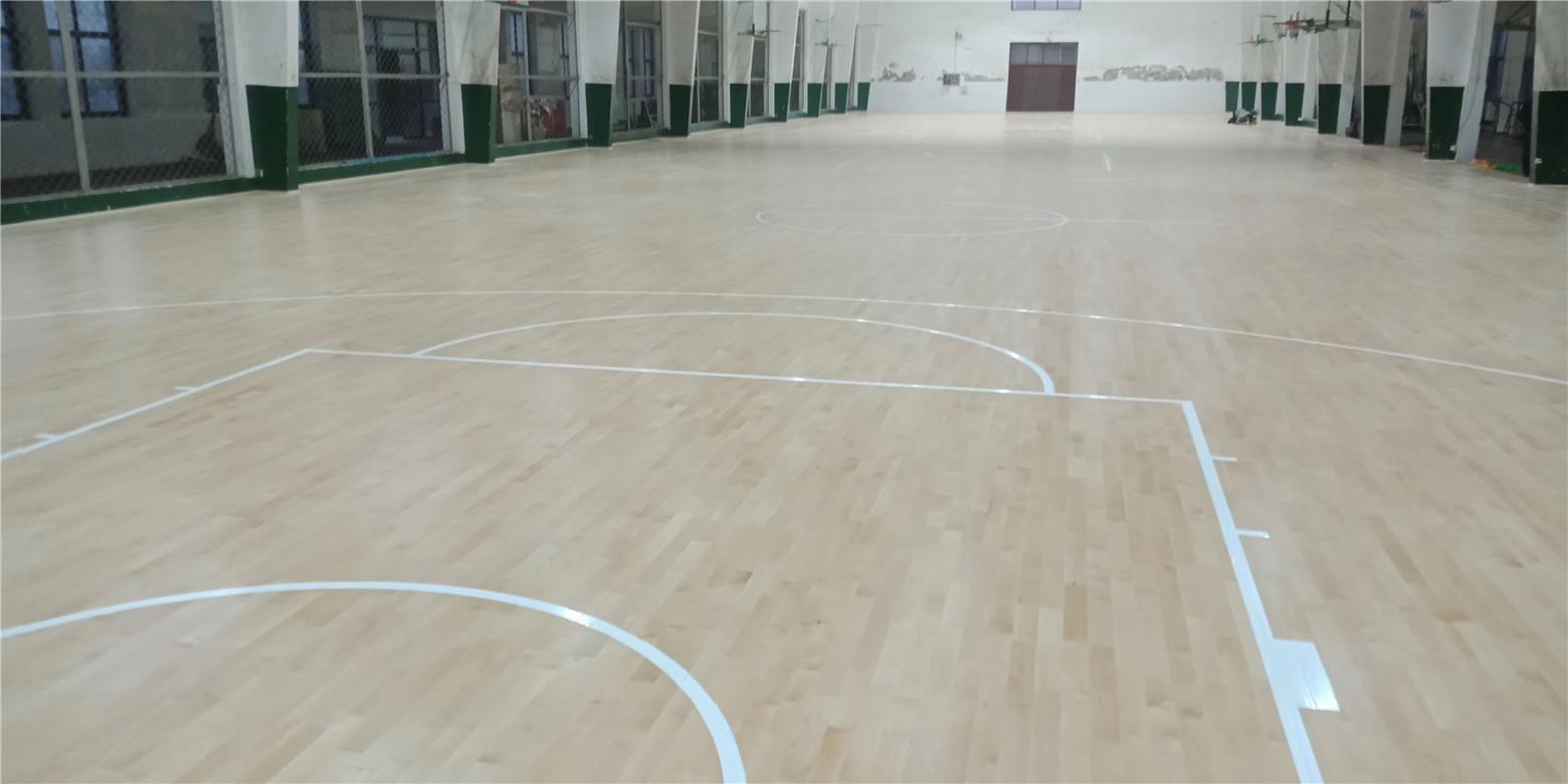 定西实木体育地板规格
