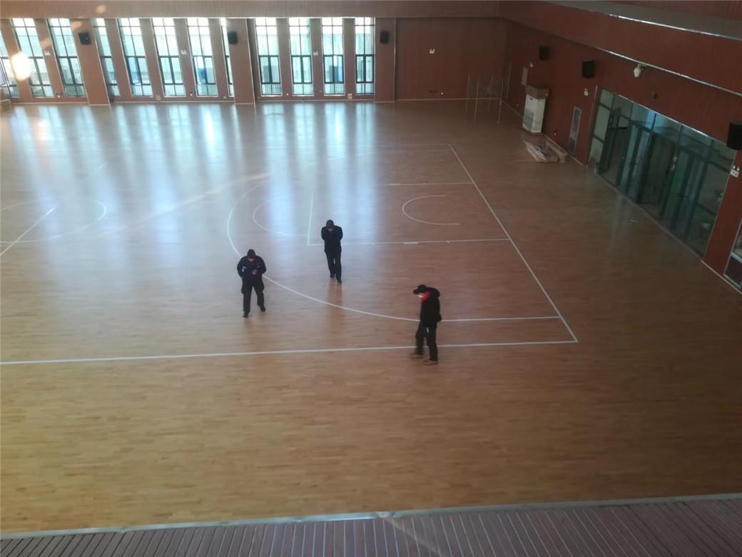 南京实木体育地板安装