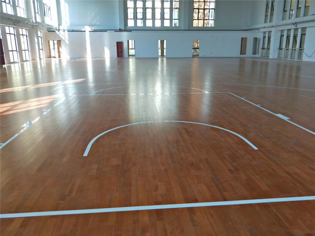 南充实木体育地板维修