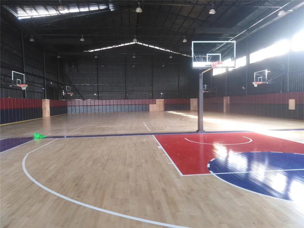 贵阳实木体育地板施工