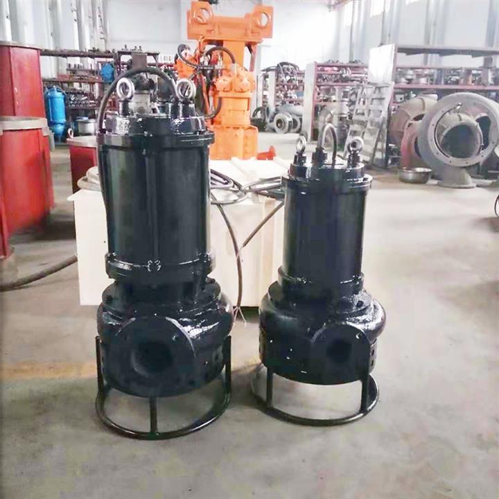 青岛污泥池清理泥沙泵 无堵塞沙石泵 性能稳定 安全环保