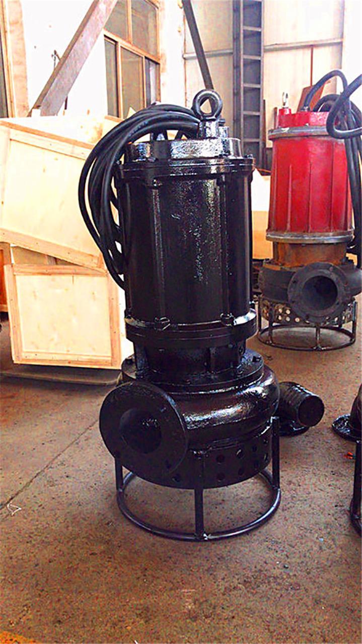 长治清淤工程潜水泥浆泵 矿用抽砂泵 技术成熟 产品稳定