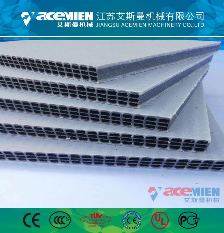 中空塑料建筑模板机器型号