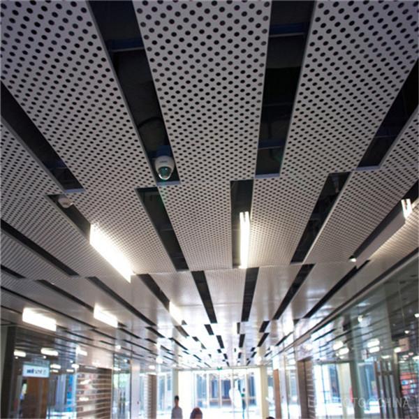 天津商场冲孔铝单板报价