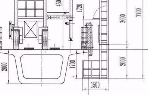 防撞墙钢模板安装