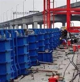 桥梁防撞护栏施工
