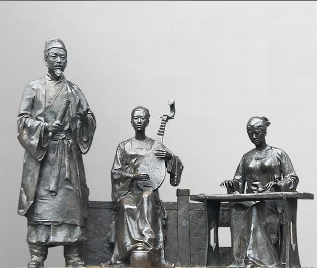佛山玻璃钢造型雕塑
