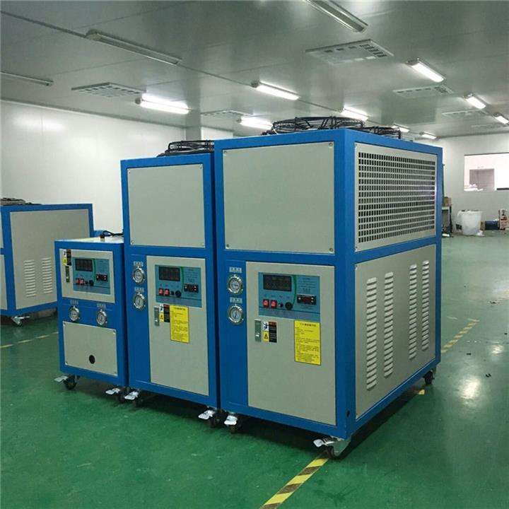 全自动恒温恒压恒流测试循环水冷水机