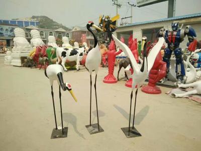 幾何仙鶴雕塑廠家-仙鶴雕塑價格-仙鶴雕塑公司