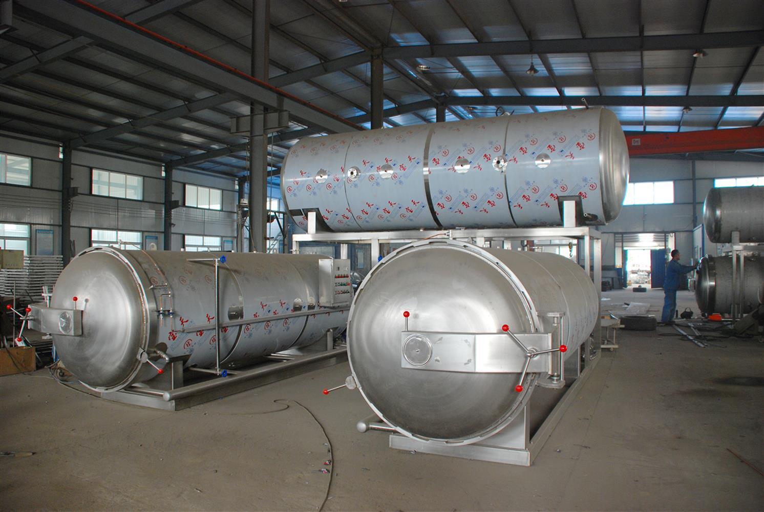 蒸汽加热不锈钢灭菌釜定制