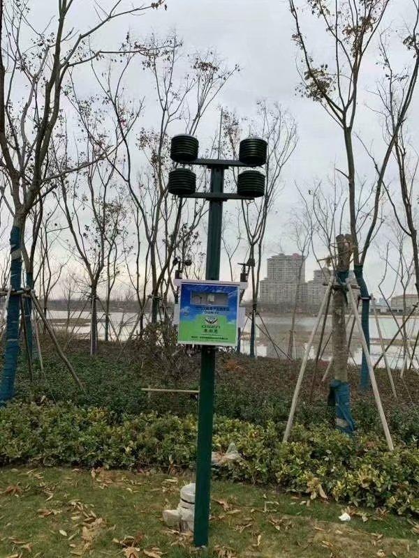 南京气象局负氧离子监测站