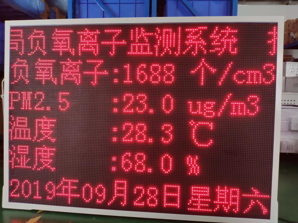 南宁在线负氧离子监测站