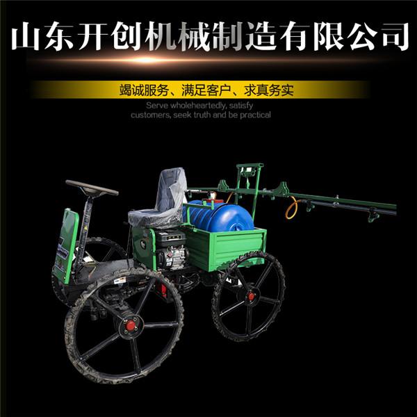 山東開創廠家定制大馬力車載式500X高壓風送打藥機
