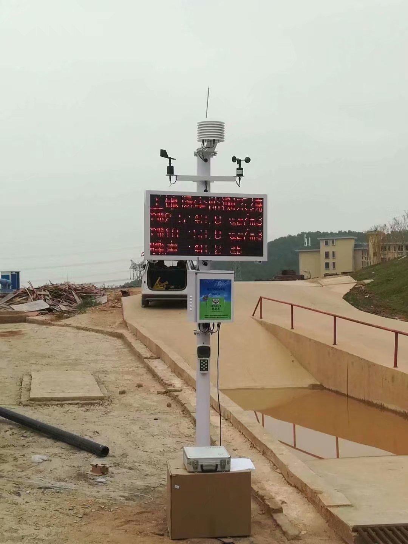常州工业扬尘噪音监测