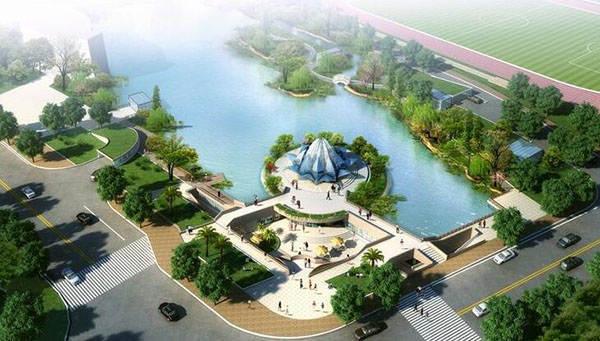 天創文旅園林景觀設計案例-武漢青少年宮