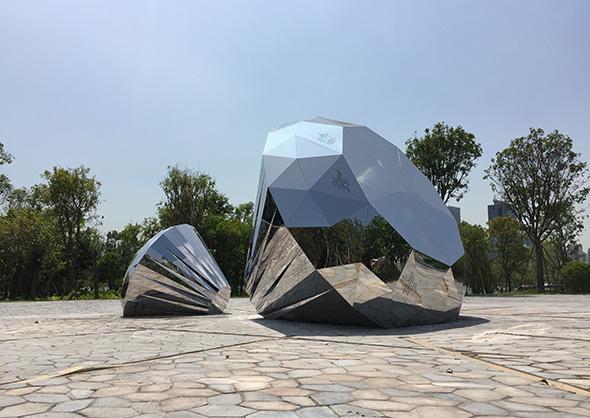 赣州不锈钢雕塑定做