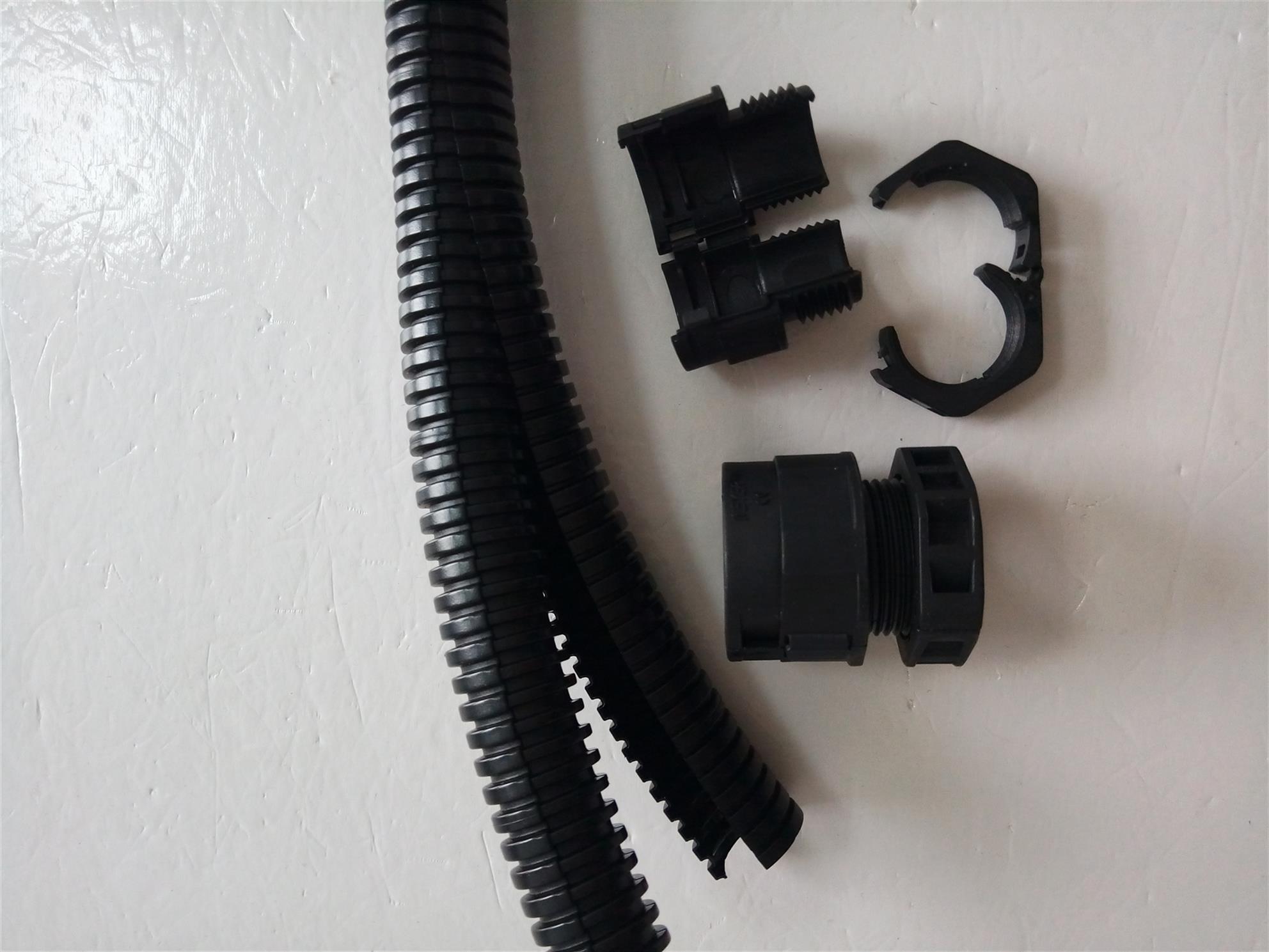 西安开口接头塑料波纹管接头规格