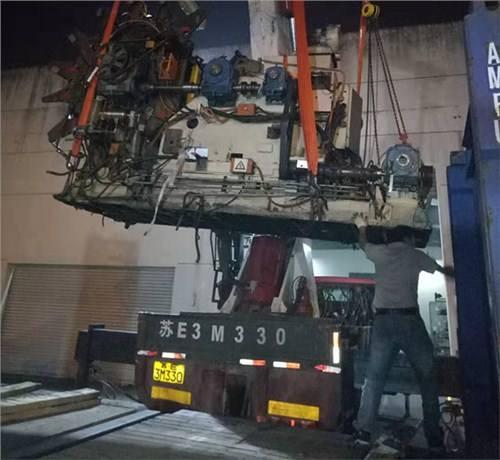 嘉定区工厂设备搬迁