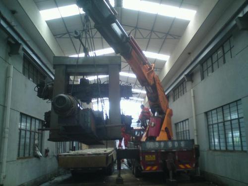 松江机器设备工厂搬迁