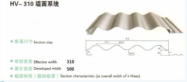 镀铝镁锌屋面板规格