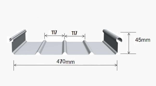 南通镀铝镁锌屋面板费用