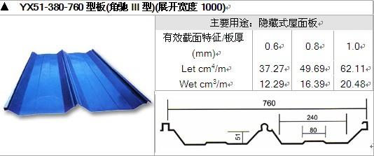 上海镀铝镁锌屋面板定制