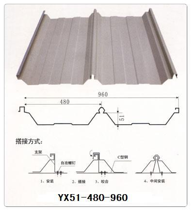 马鞍山镀铝镁锌屋面板规格