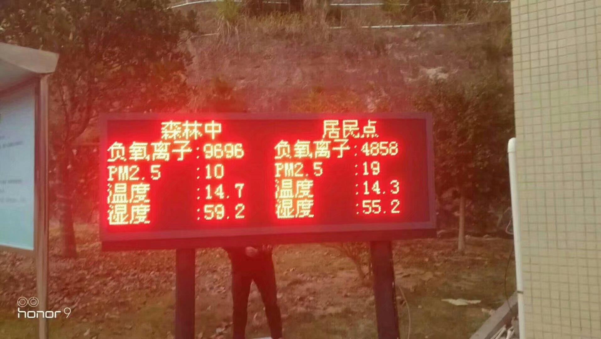上海负氧离子监测价格