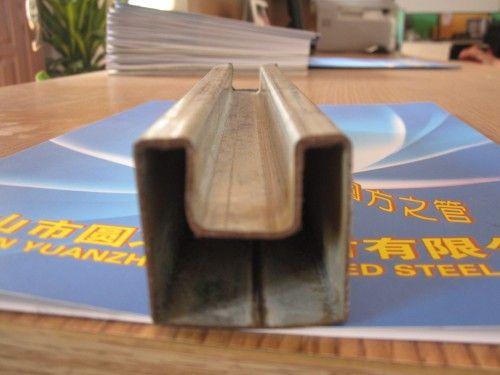 鍍鋅凹槽管-凹槽管價格-凹槽管生產廠家