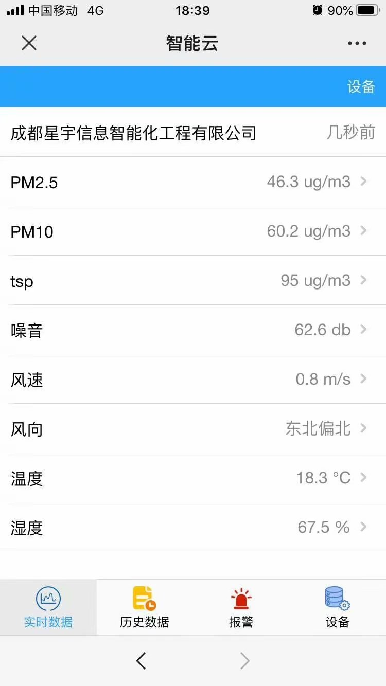 北京扬尘噪声监测系统费用