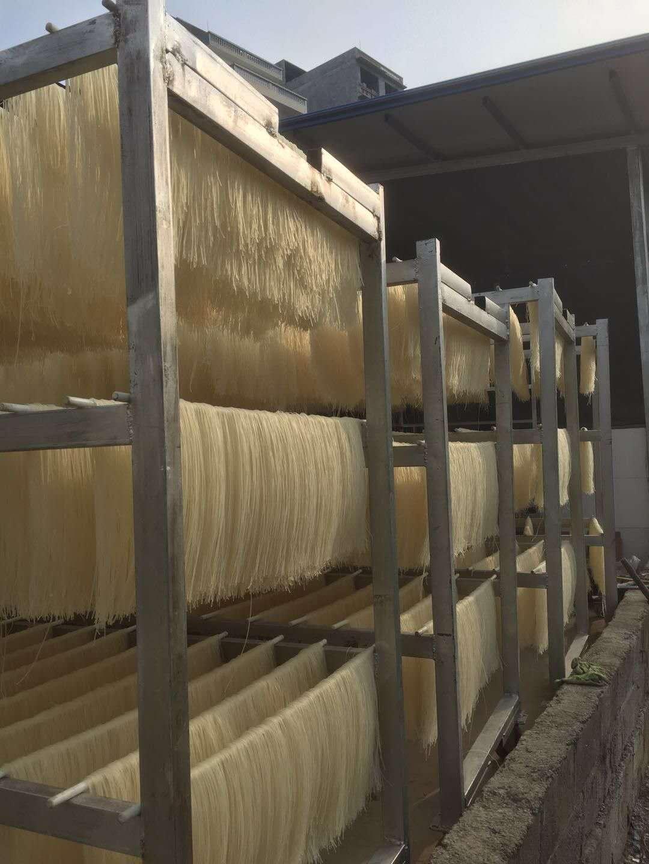 大型米粉烘干机安装