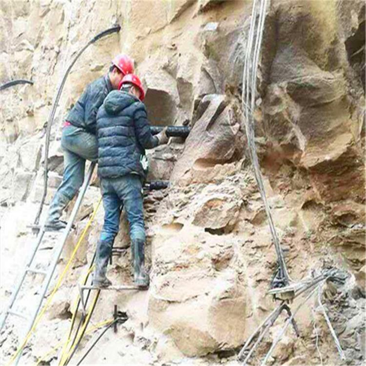 锡林郭勒盟静态岩石液压劈裂棒生产厂家
