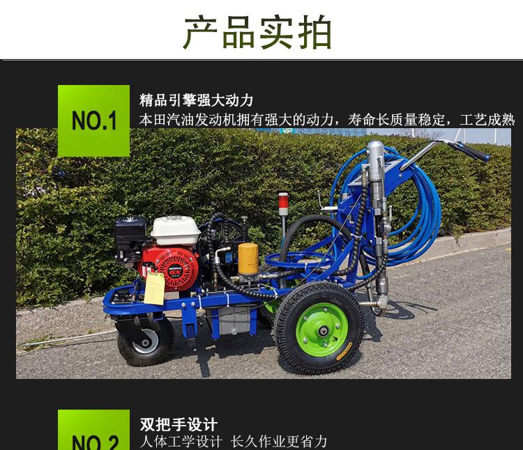 潍坊停车位道路划线机反光标牌制作安装报价