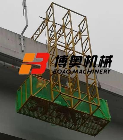 桥梁施工电动吊篮