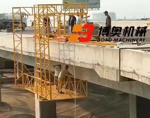 铁路局桥梁吊篮热镀锌防腐