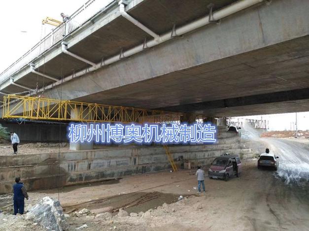 桥梁工程检修车