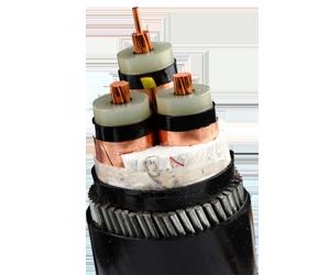 阻燃高壓電纜 ZR-YJV 8.7 15KV 3X50