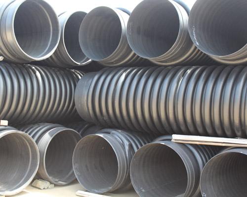 赣州HDPE增强缠绕结构壁管B型管