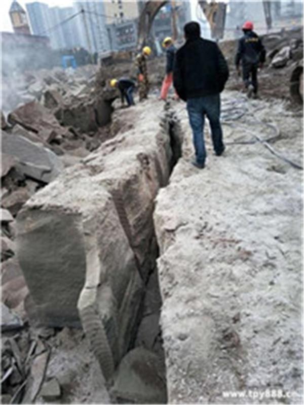 石家庄矿山开采劈裂棒规格