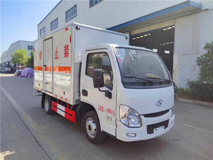 江淮蓝牌煤气瓶运输车气瓶运输车规格