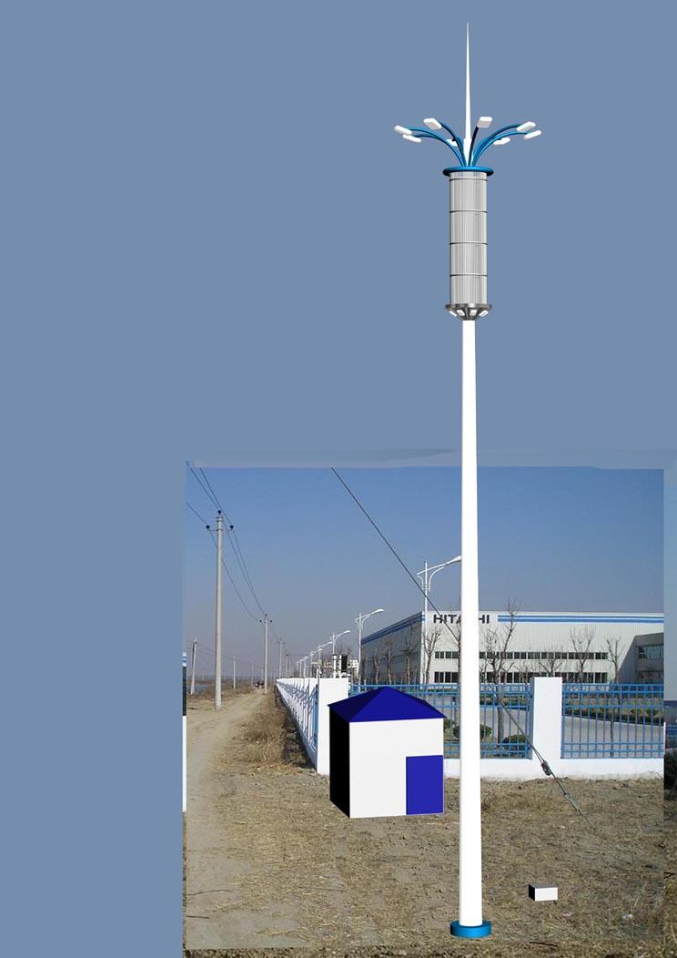 路燈桿檢測 桿塔