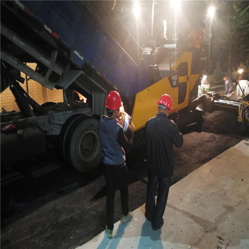 深圳南山西丽沥青路面工程施工
