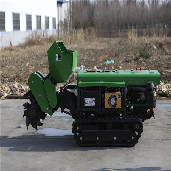 履帶式開溝施肥埋肥一體機