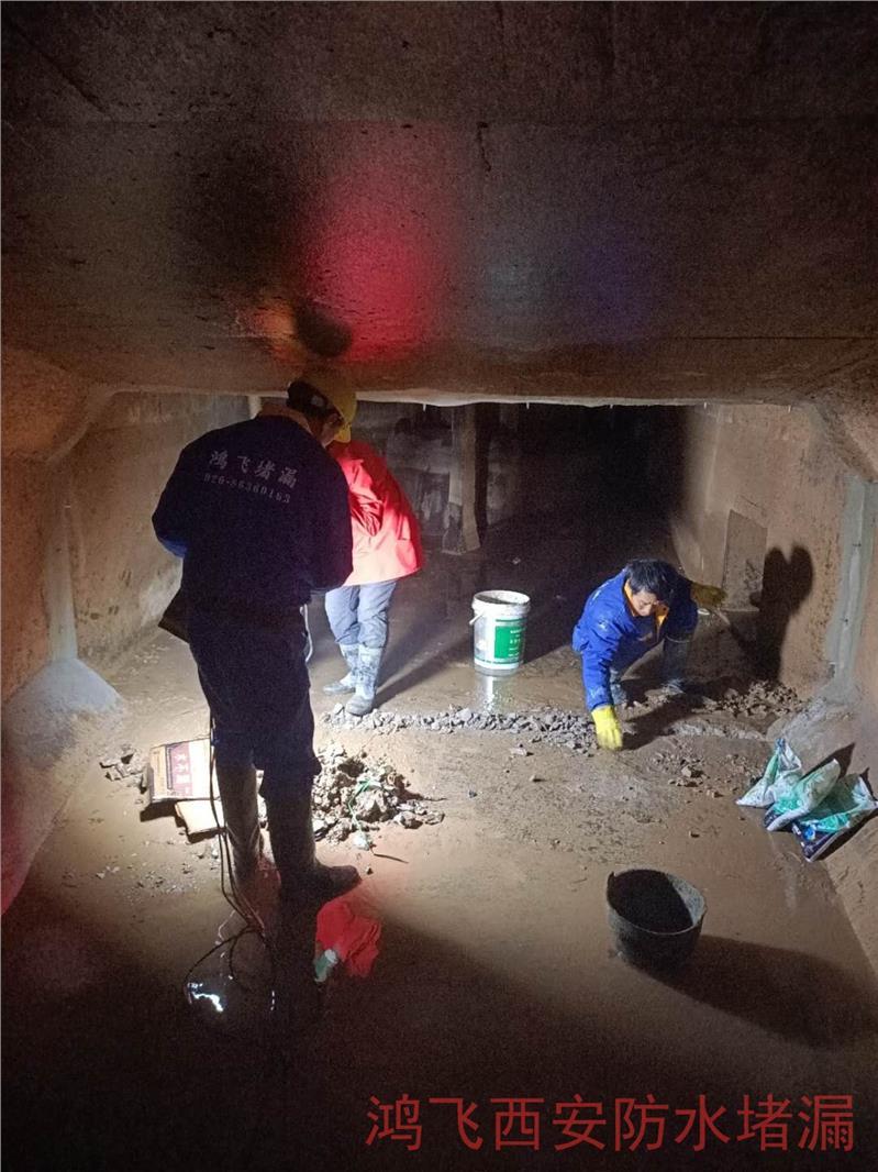 运营中水电站渗漏水怎么处理