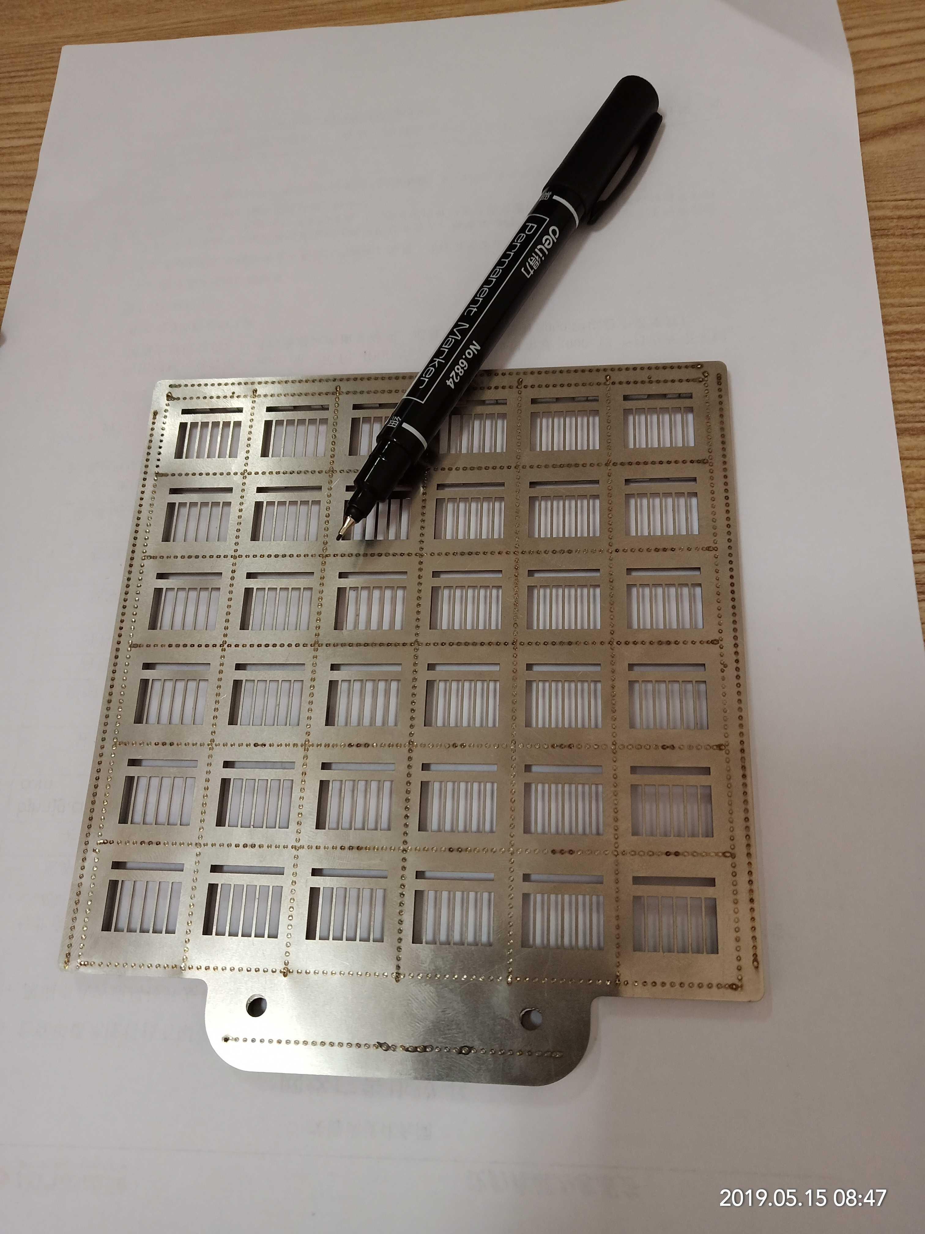 大連哈氏合金掩膜版 太陽能電池掩膜板加工 誠信企業