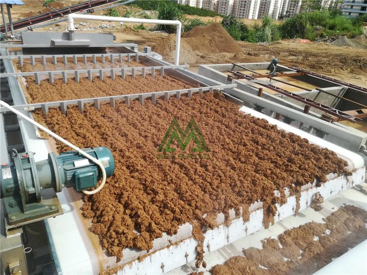 洗砂泥浆处理设备 土包沙泥浆脱水处理 全自动