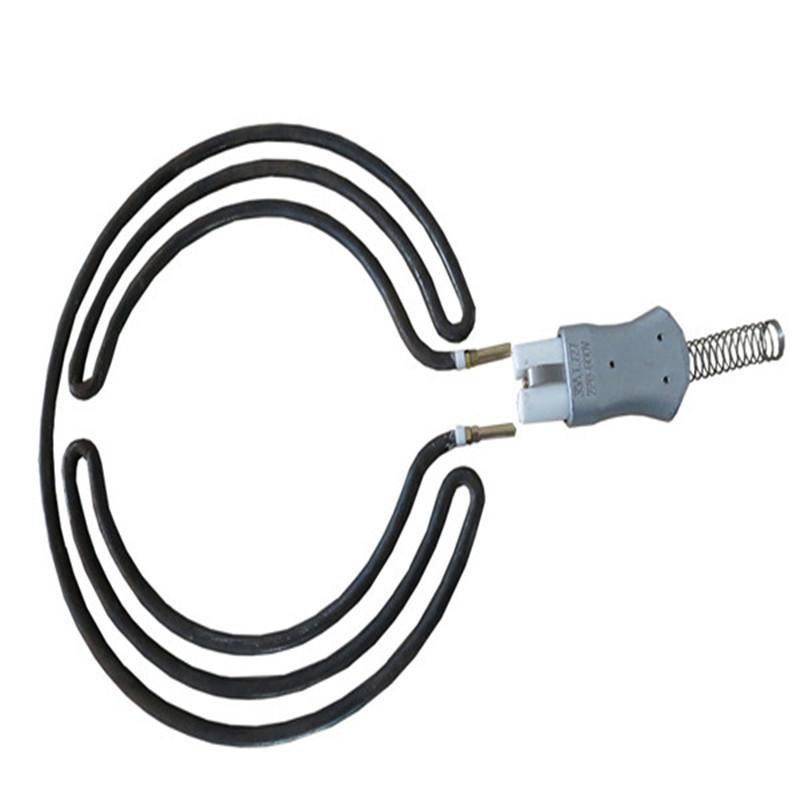 定制 異型不銹鋼螺旋電熱管 高溫電加熱管發熱管 各種形狀加熱管