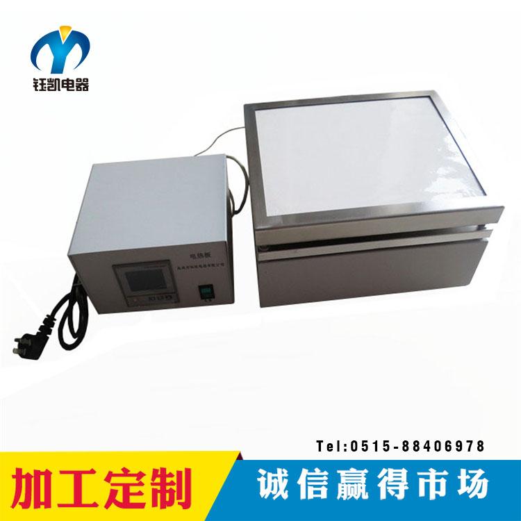 供應 陶瓷溫控加熱臺 鑄鋁噴塑 數顯溫控電加熱臺 電熱板