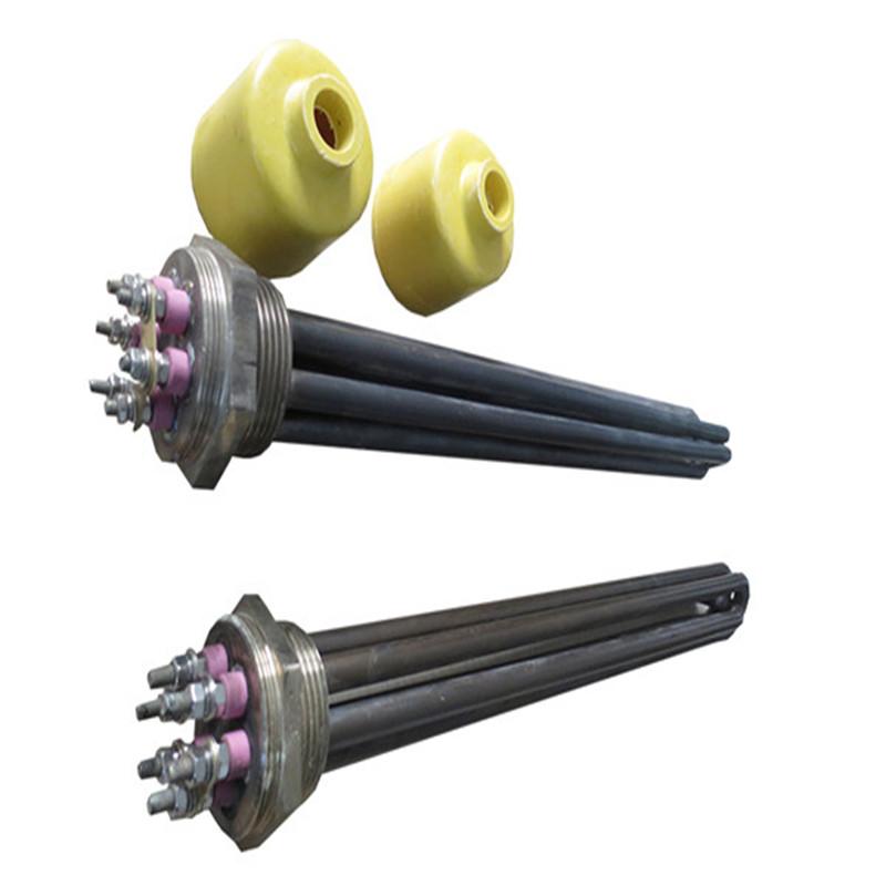 不锈钢法兰水箱电加热管 导热油电加热管非标定制