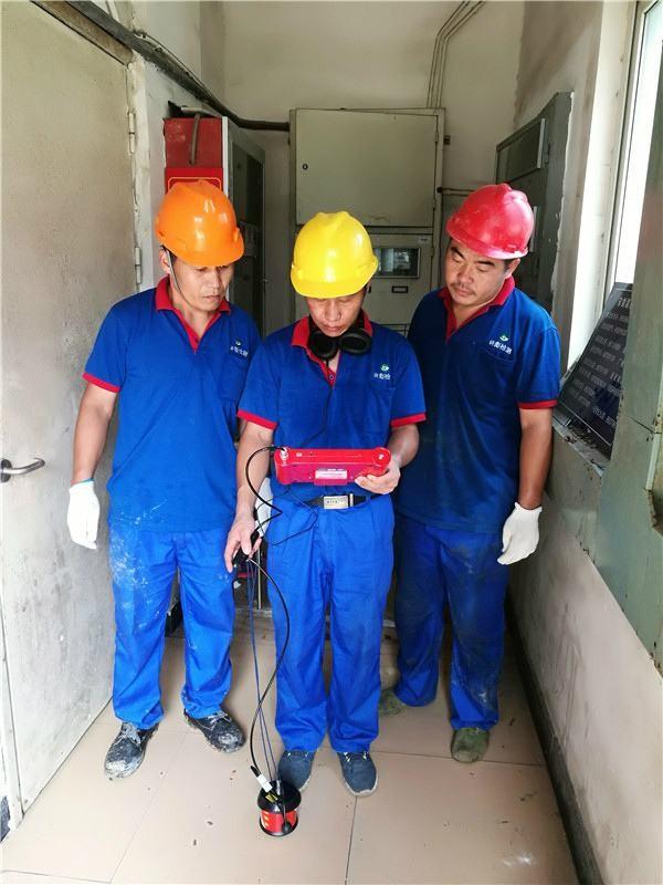 济宁宾馆消防管道漏水检测
